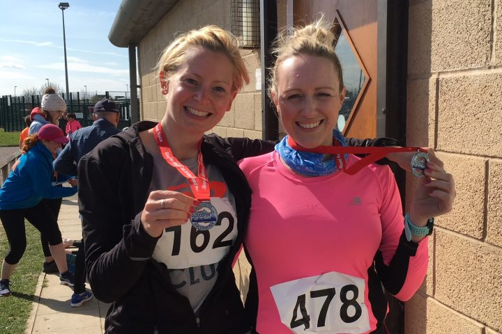 Let the tapering commence! Key milestone reached for two of RAFT's marathon runners