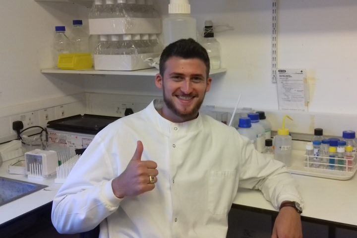 Evan Davison-Kotler returns to RAFT to work on Tissue Regeneration Project