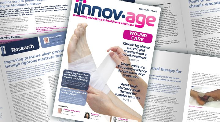 RAFT Chronic Wound Research Featured in Wound Care edition of Innov-age magazine